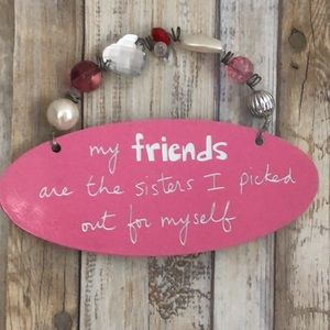 🎄Friends/Sisters sign🎄